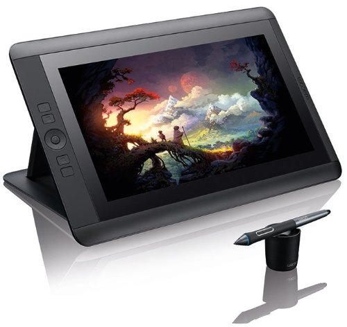 Wacom Cintiq HD Tableta gráfica LED HD  Kg watt hours negro