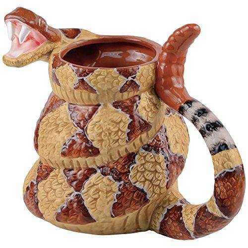 Rattlesnake Coffee Mug Cup - The Late Late Show with Craig Ferguson - 20 Ounce (The Late Night Show With Craig Ferguson)