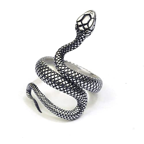 V Best Snake Ring For Vintage,Fashion Animal Rings For Women Snake Ring,Vintage Jewelry Rings For Men Adjustable Size by V Best