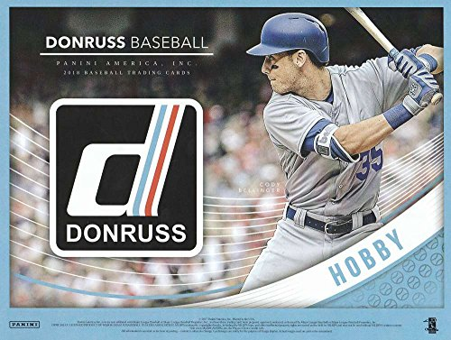 2018 Donruss Baseball Hobby Box (24 Packs/8 Cards: 3 Autos or Memos, 4 Inserts, 5 Parallels, 1 Variation Parallel) (Diamond Collection Baseball Box)
