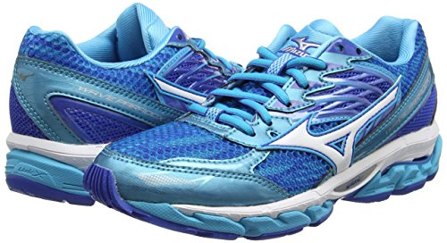 Strong Mizuno Wave Azul de Mujer para Zapatillas W Azul Running 3 Blue Blue Paradox White Atoll STcTWH6q