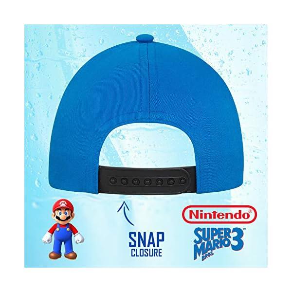 Nintendo Boys Super Mario Baseball Cap Ages 4 7