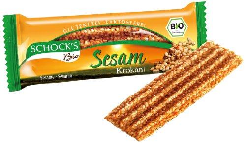 Schock's Bio Sesam Krokant, 30er Pack (30 x 30 g)