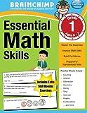 Essential Math Skills : 1st Grade Workbook For Ages 6-7