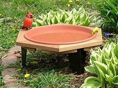 Songbird Essentials SE508 Classic 17 Garden Bird Bath (Set Of 1)
