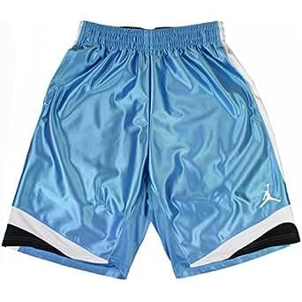Jordan Court Vision Men's Basketball Shorts Legend Blue/Black/White 576638-477 (Size XL)