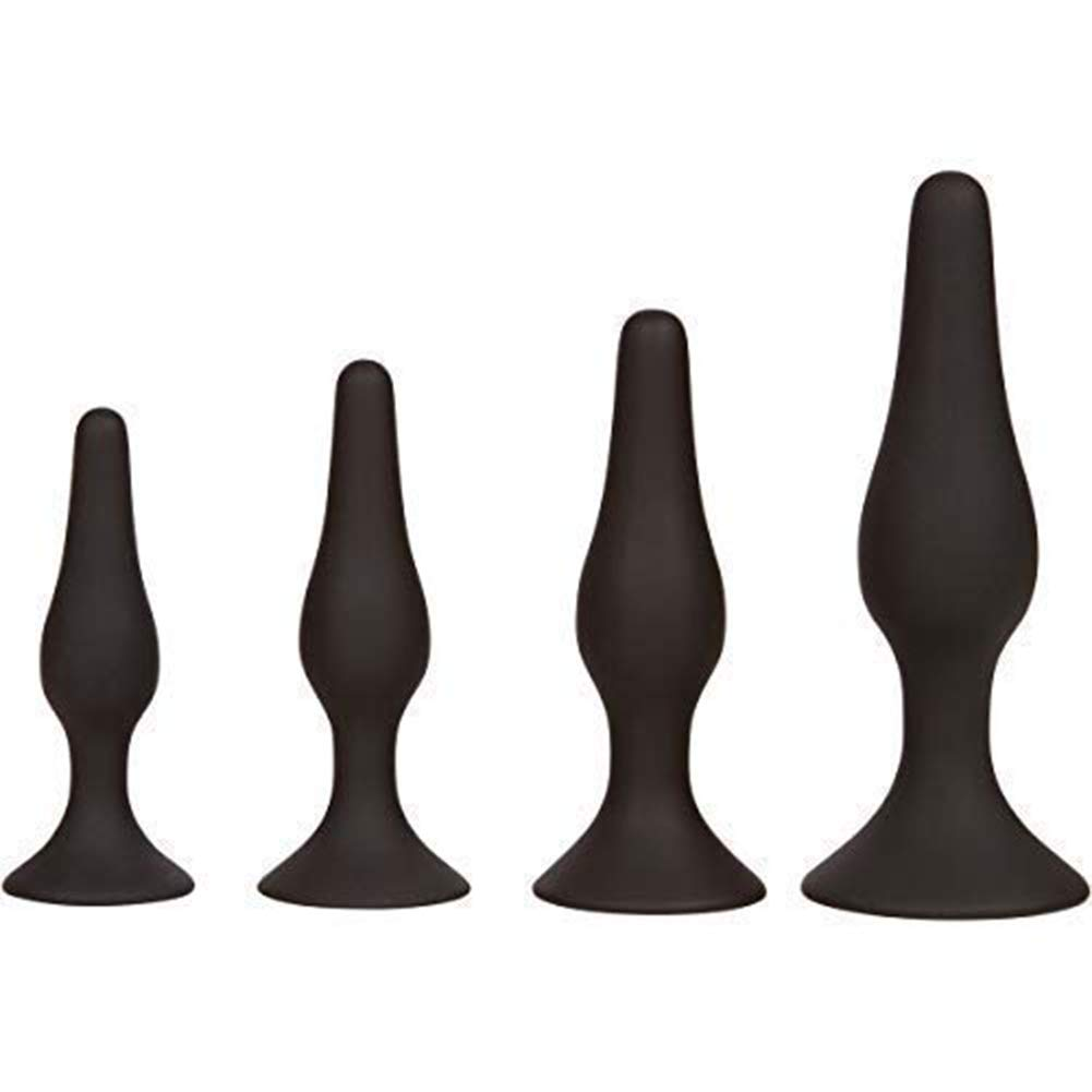 4Pcs Pure Silicone Ànâl Trainer Plug for Beginners and Advanced Users