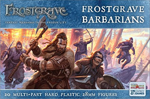 Frostgrave Miniatures - Characters 28mm Barbarians by Frostgrave Miniatures - Characters 28mm