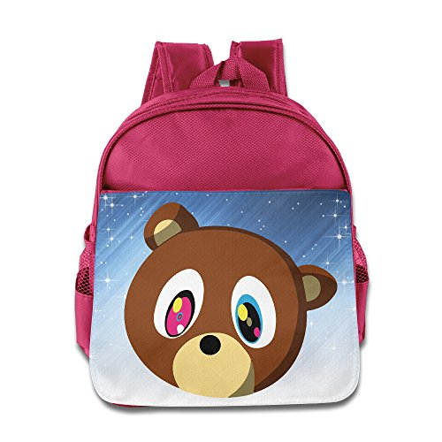 [ELF STORY - Canye Cute Bear Little Kid Baby Boys Girls Toddler School Backpack Pink] (Sims 3 Bear Costume)