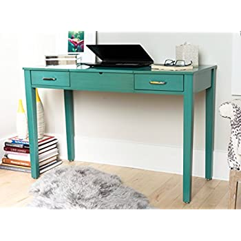 Etonnant Haven Home 6008 035 Ainsley Vanity Desk, Turquoise
