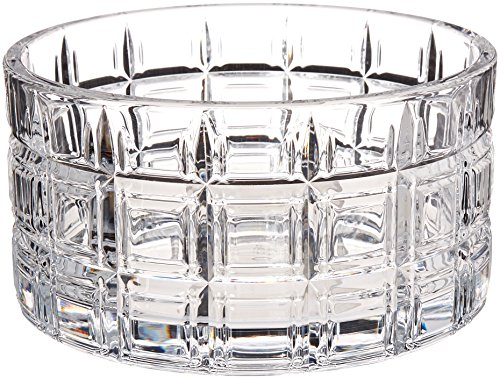 Marquis By Waterford Crosby Bar Bowl, 6 x 6 x 3.1 inches, Clear