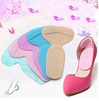 f29e22c849e22 Amazon.com: Soft Silicone High Heel Cushion Shoe Insert Dance Insole ...