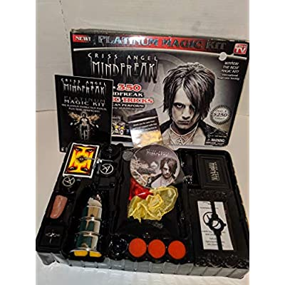 Criss Angel Platinum Magic Kit, Black: Toys & Games