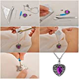 Valyria Fish Hook Charm Memorial Necklace