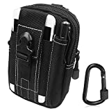 Sahara Sailor Tactical Pouch Molle Utility Pouch Gadget EDC Waist Pack W Free Locking Carabiner for Outdoor Hiking Camping Cycling