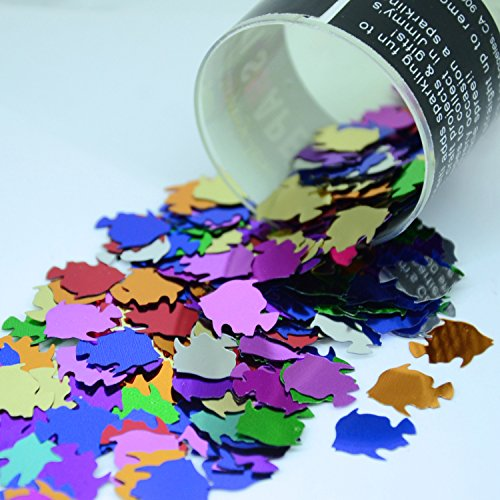 Confetti Angel Fish Multicolors - Retail Pack #8152 - Free Ship
