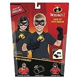 The Incredibles 2 Gear Set, 3-Piece (Mask/Gloves/Emblem), Black, Ages: 4-8
