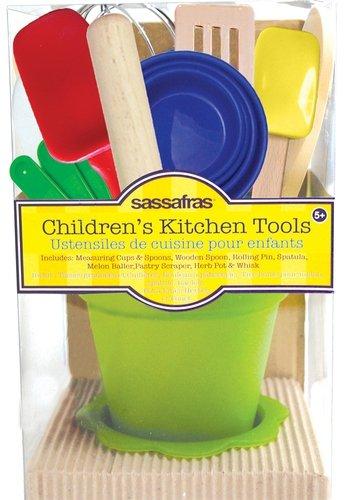 Sassafras Little Childrens Kitchen Tools