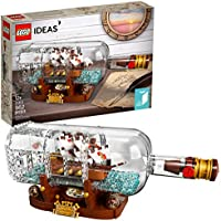 LEGO Ideas Ship in a Bottle 21313 Expert Building Kit...