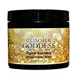 Best Body Shimmers - Organic Gold Shimmer Whipped Body Butter Sexy shimmer Review