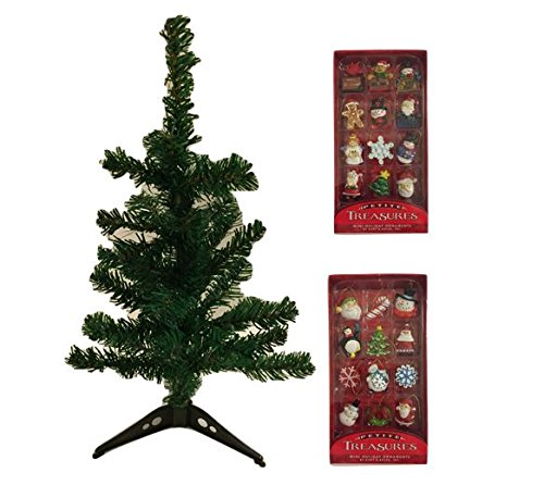 Miniature Tree and Ornaments