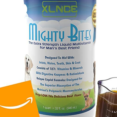 Dog Multivitamin Dog Vitamins and Supplements for Dogs Own The Patented Fluid Formula That Absorbs 98 X More Than Solid Supplements. Your Dogs Will Act, Feel Look Healthier. Up to 4 Mo. Supply