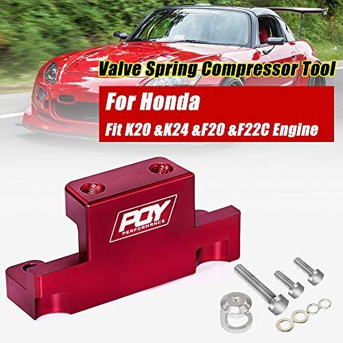 PQY Valve Spring Compressor Tool Removal for Honda Acura K Series K20 K24 F20C F22C Red