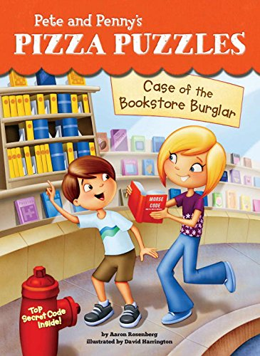 Case of the Bookstore Burglar #3 (Pete and Penny's Pizza Puzzles) by Price Stern Sloan