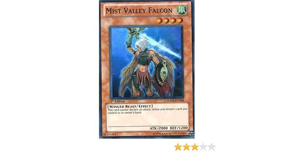 Near Mint Super Rare Mist Valley Falcon 1st Edition x3 HA02-EN048