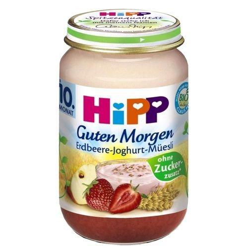 Bio Hipp Guten Morgen Müsli Erdbeer Joghurt 160g