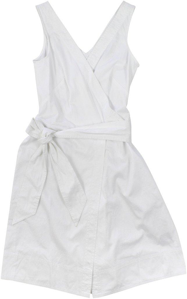 Lauren Ralph Lauren Women's Cotton-Blend Sleeveless Jumpsuit Size 2 White