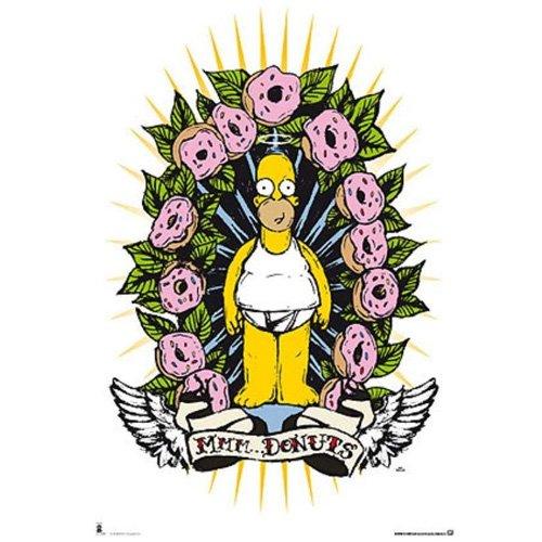 Poster Los Simpsons Donutshttps://amzn.to/2PN7CUy
