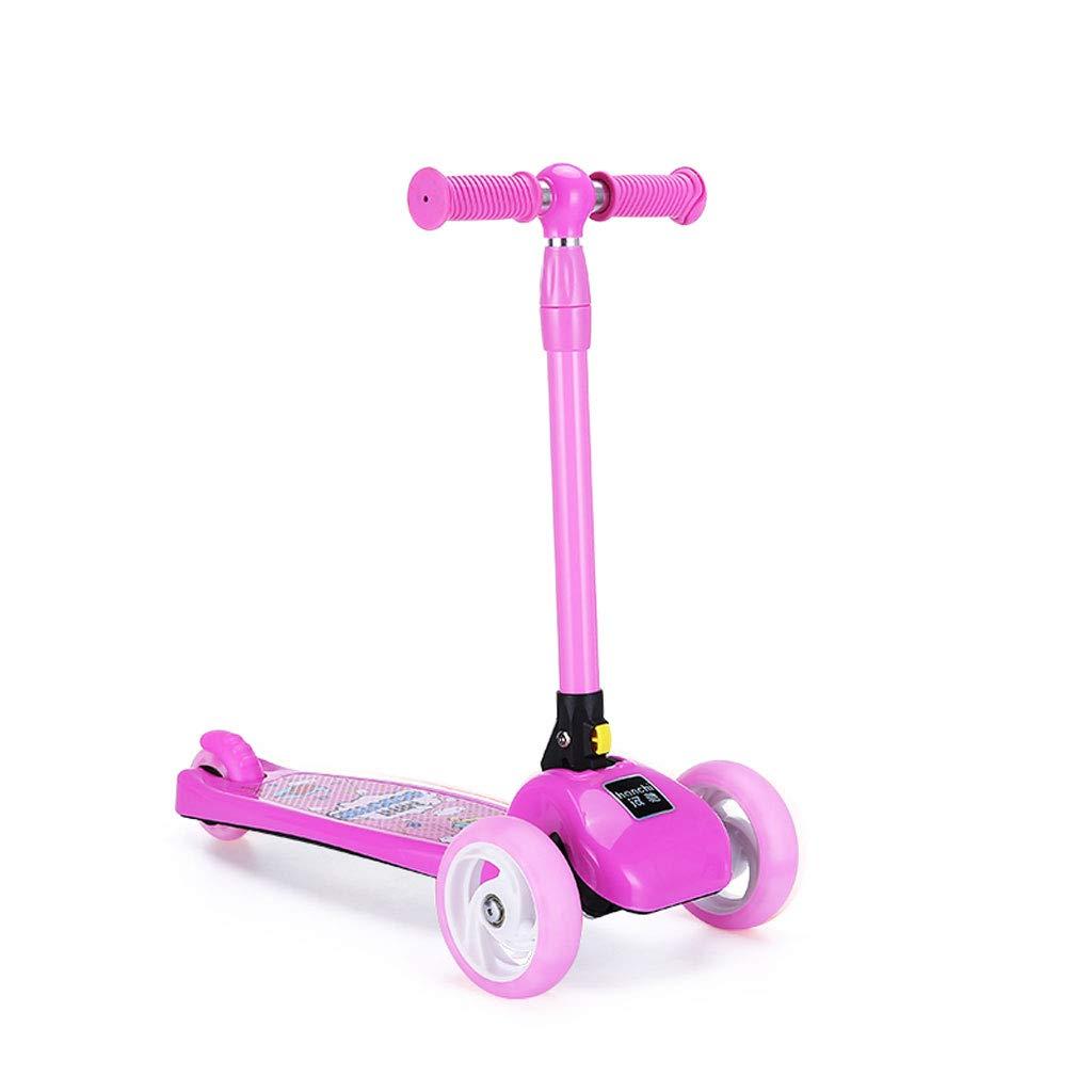 Barato Scooter para niños 3 Scooter Plegable Scooter Redondo 2-6 años
