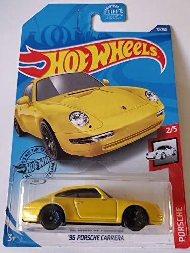 Hot Wheels 2020 Porsche Series - '96 Porsche Carrera, Yellow 72/250