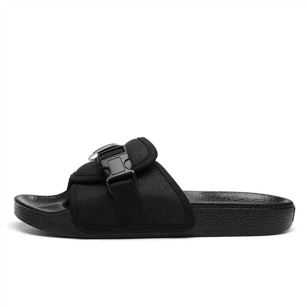 ONCEFIRST Unisex Canvas Sandals Slides with a Buckle Summer Beach Slippers OCFT-ZSUO-ZS18601