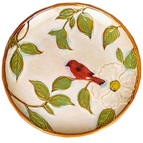 Exquisite Süßigkeit Obstschale Snack Tray Debris Lagerplatte (roter Vogel)