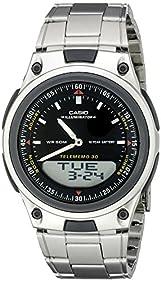 Casio Men's AW80D-1AVCB 10-Year Battery Ana-Digi Bracelet Watch