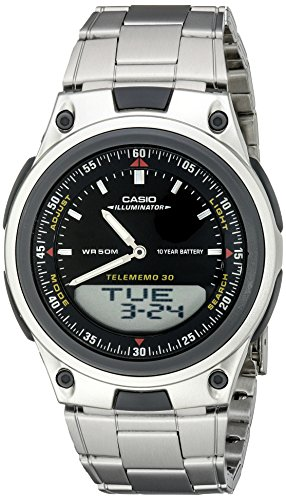 (Casio Men's AW80D-1AVCB 10-Year Battery Ana-Digi Bracelet Watch)