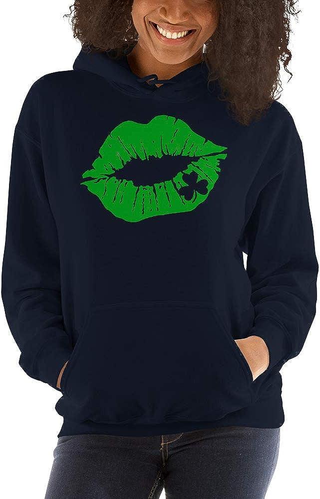 Irish Lip Kiss Me Im Irish Funny St Patricks Day Unisex Hoodie