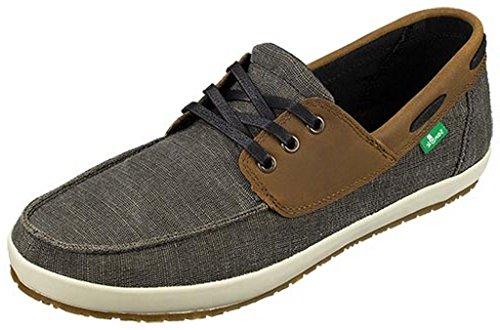 Sanuk+Mens+Casa+Barco+Vintage+Sidewalk+Surfers+Footwear%2C+Olive+Vintage%2C+Size+10