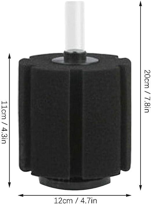 Fantástico acuario filtro de esponja bioquímica pequeño tamaño filtrator Cafetera De Filtro PT