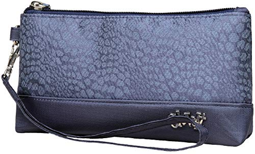 Glove It Women's Wristlet Wallet Zipper Wristlets for Women - Ladies Wristlet Purse - Removable Strap for Keychain - Make Up, Cell Phone, Smartphone, Travel, Credit Cards - 2019 Chic Slate