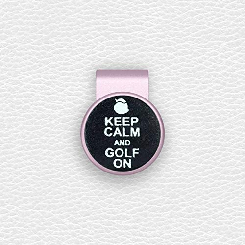 birdea Golf Ball Marker with Magnetic Hat Clip- Rose Gold Series