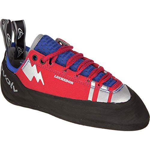 Men's Evolv Red Shoe Lace Luchador Silver Climbing wqrAIv4xq
