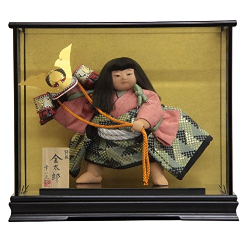 【五月人形】 ケース入り金太郎人形 特製10号 幅46cm 185to2061 幸一光 mk161 B076GZMKP9