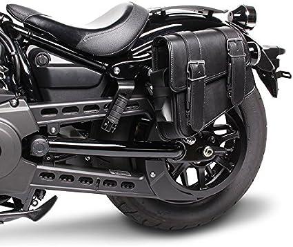 Satteltasche Für Honda Black Widow 750 Montana Schwarz Links Auto