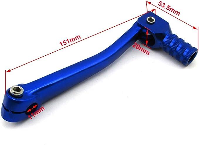 Stoneder Blau Schalthebel Hebel Gasgriff Griffe Für 50 125 160cc Chinese Pit Bike Auto