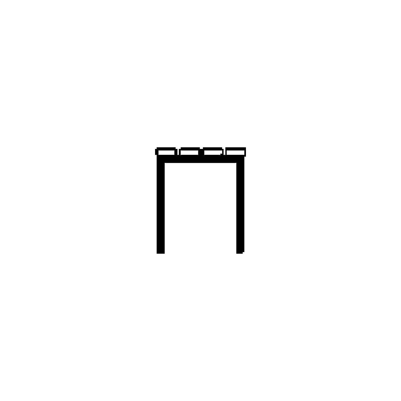 longueur 1000 mm Banc Banc de vestiaire Banc en bois Banc multi-usages Banc pour vestiaire Bancs Bancs de vestiaires Bancs en bois Bancs multi-usages Bancs pour vestiaires Banc dext/éri Wolf Banc de vestiaire sans dossier lattes en PVC marron