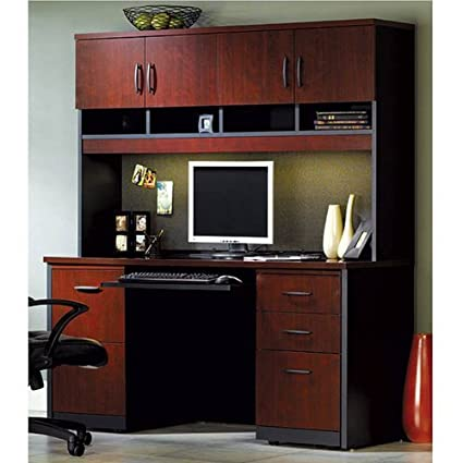 Amazon Com Sauder Office Furniture Via Collection Credenza With