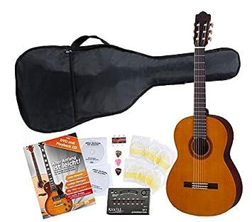 Yamaha C40 Guitarra clásica (Incluidos funda, afinador y cuerdas): Amazon.es: Instrumentos musicales